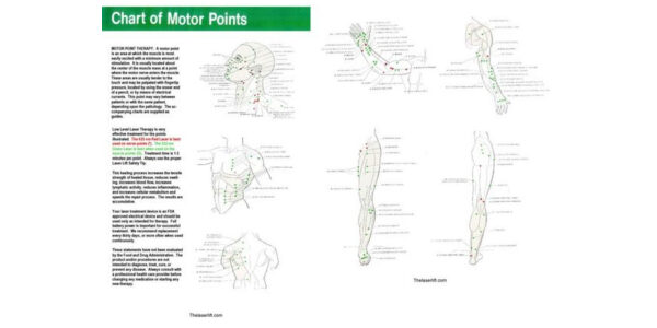 Motor Point Therapy Chart